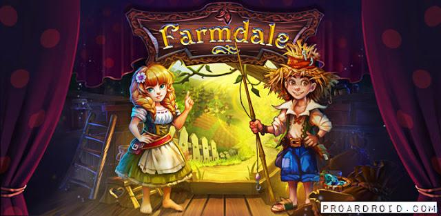 تحميل لعبة الزراعة والاستراتيجية Farmdale