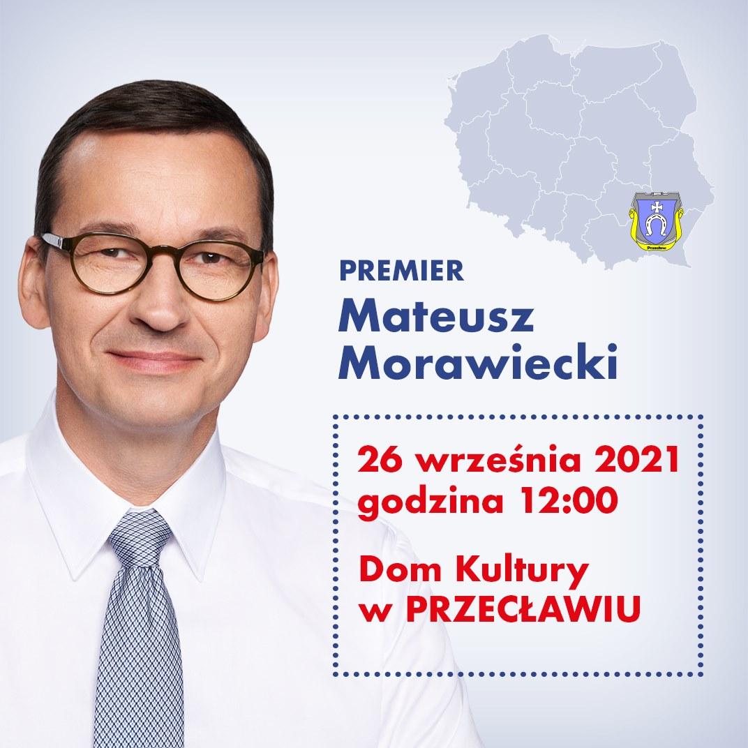 Premier Mateusz Morawiecki odwiedzi Przecław