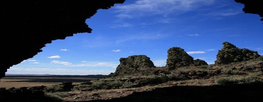 Pali Aike Cave.