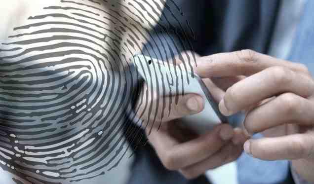 mengaktifkan kunci sidik jari whatsAPP