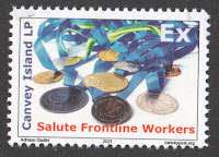 Canvey Local Post Salute to Frontline Workers stamp