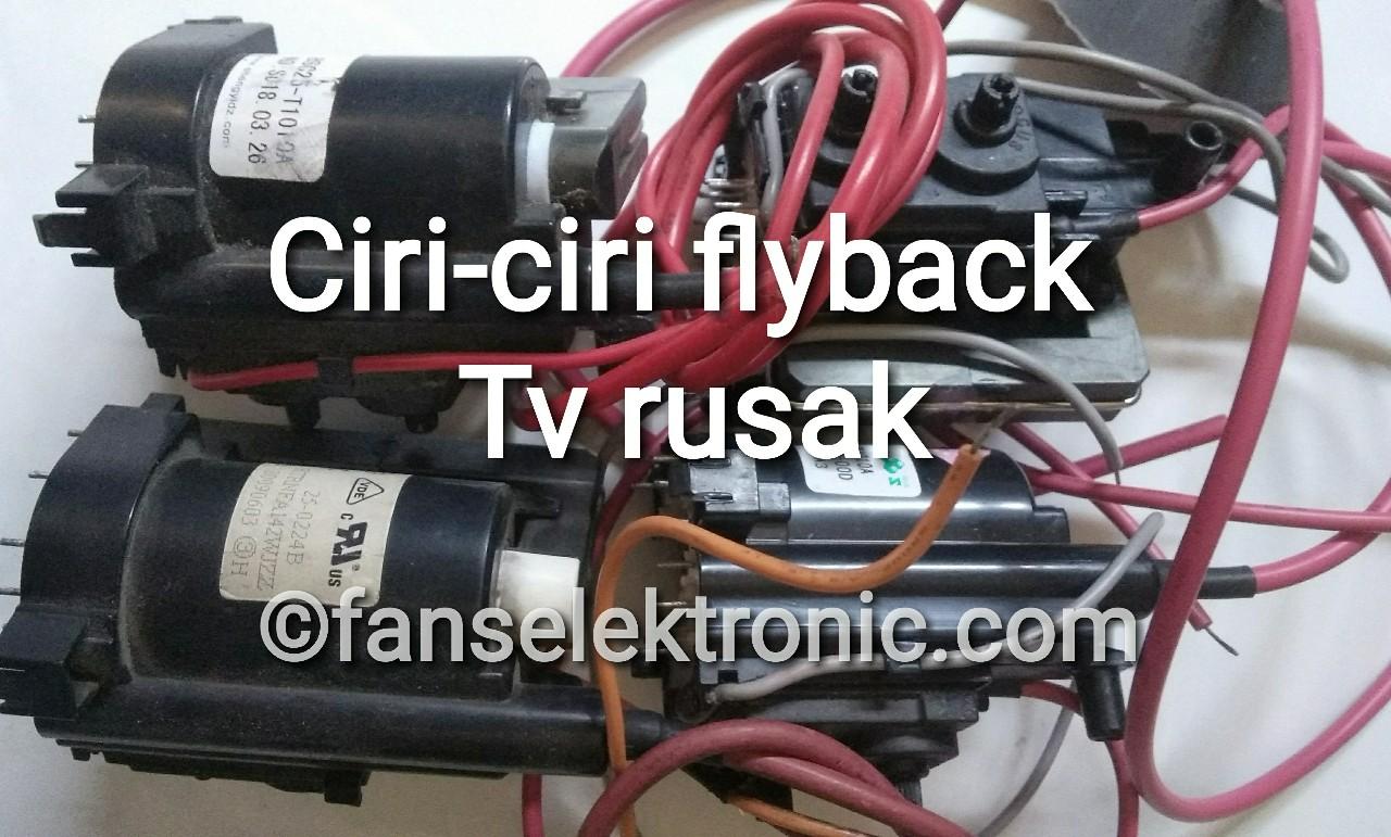 ciri-ciri flayback tv rusak