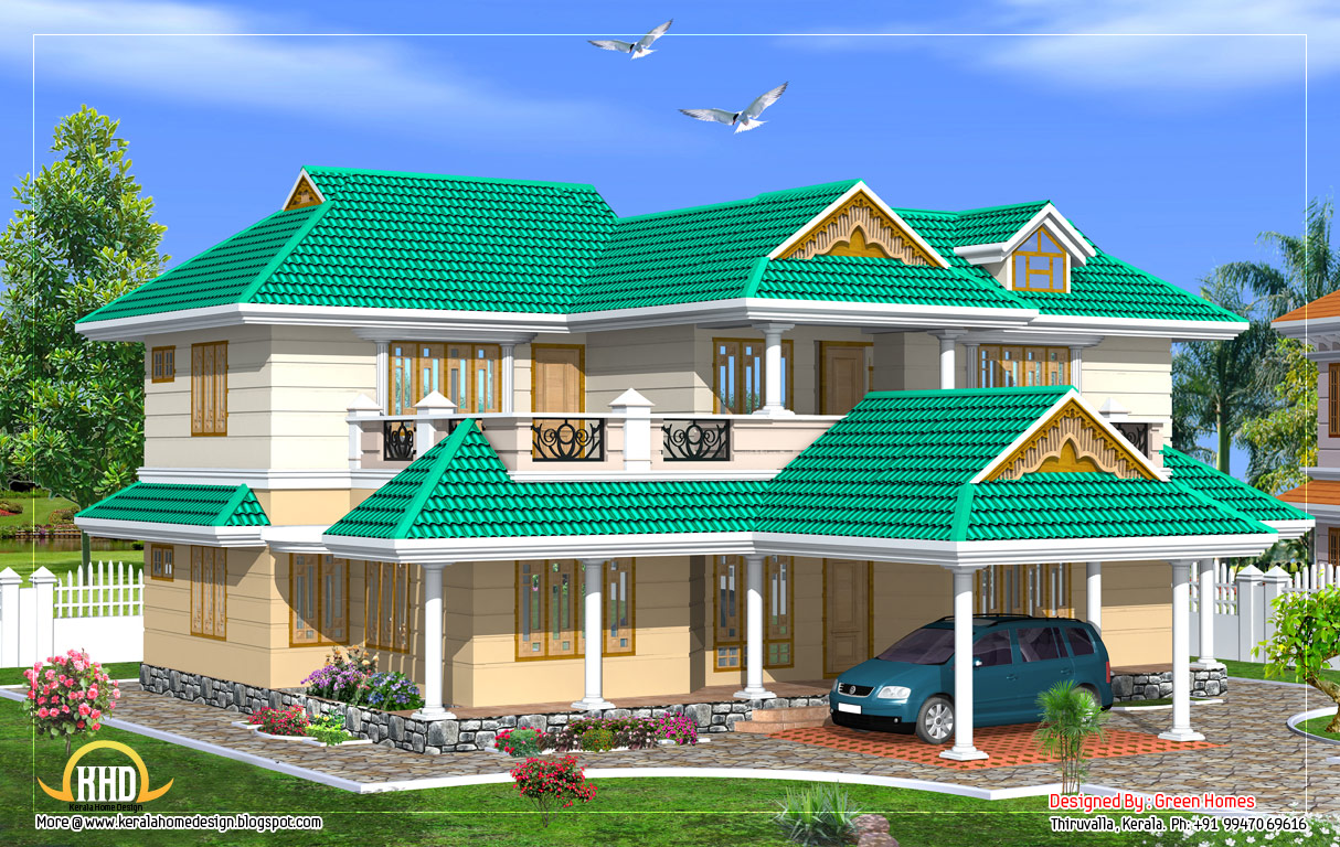 February 2012 kerala home design and floor plans for Good home designs in india