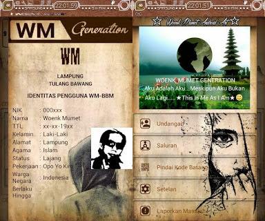 WM BBM Base BBM Versi Terbaru 3.1.0.13 APK