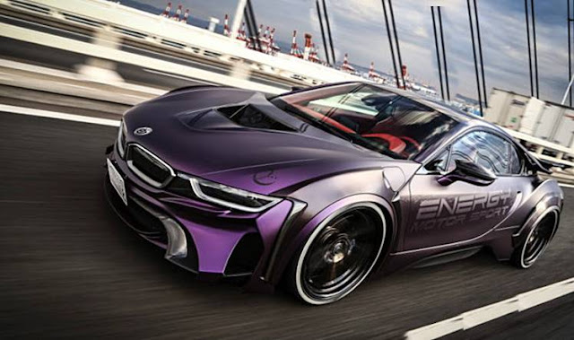"BMW EVO i8 ""Dark Knight"" Edition"
