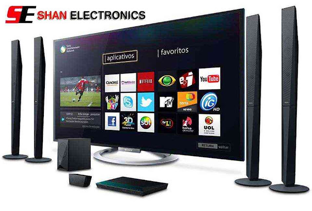 SHAN Electronics Welcome Banner for LED TV and Home Theater
