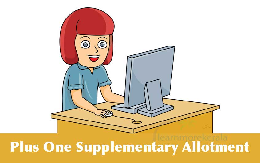 Plus One Supplementary Allotment 2021