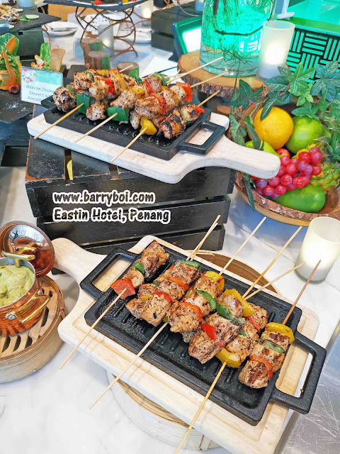 Salmon Buffet Penang Buffet Eastin Hotel Penang Penang Malaysia Blogger Influencer