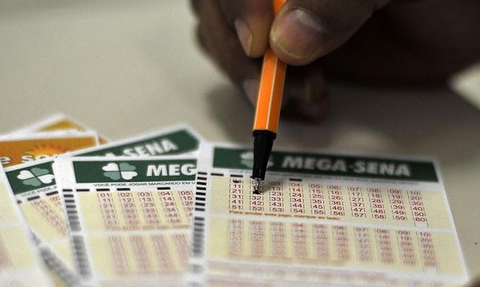 Mega-Sena acumula e prêmio vai a R$ 6 milhões; veja os números sorteados
