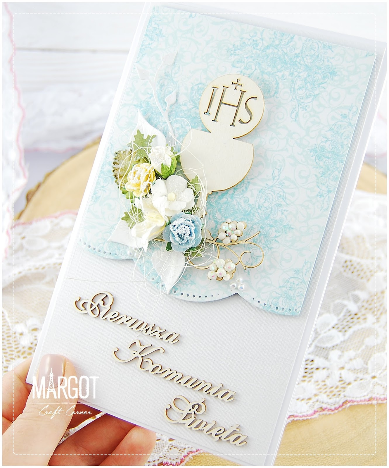Wild orchid crafts first holy communion inspiration for First communion craft ideas