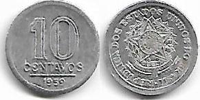 10 centavos, 1959