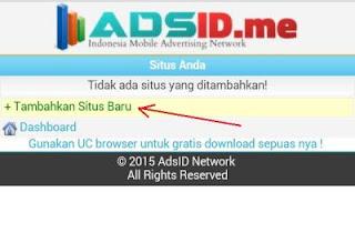 adsid 4amdp Cara mendapatkan Pulsa gratis dari Internet dengan AdsID.me