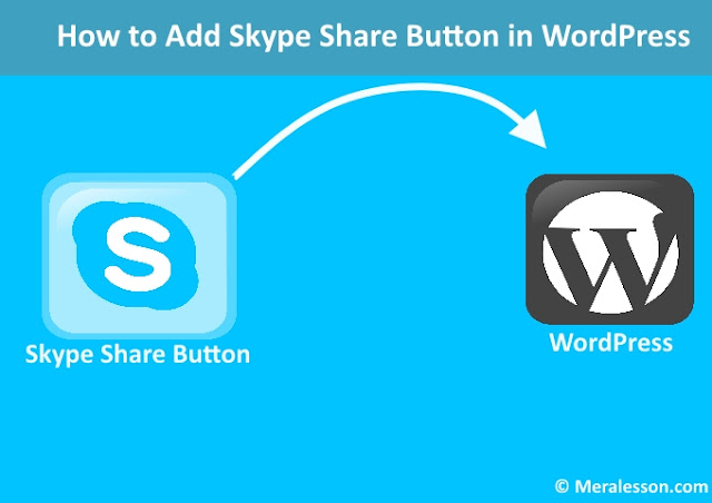 How to Add Skype Share Button in WordPress