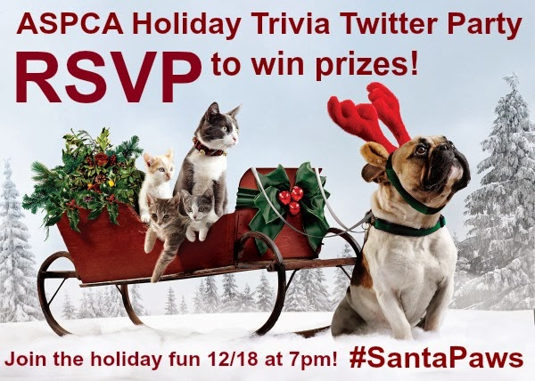 Cat chat with caren and cody december 2013 join the aspca holiday trivia twitter party tonight santapaws rsvp to win prizes m4hsunfo