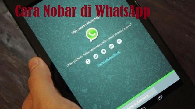 Cara Nobar di WhatsApp
