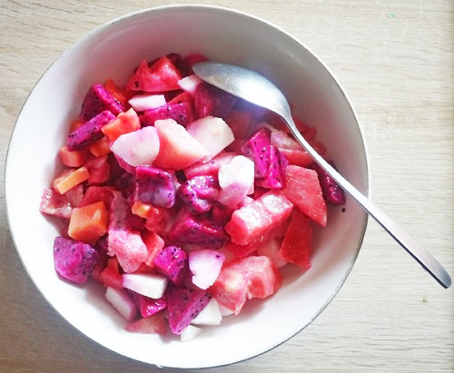 Resep Salad Buah Untuk Long Weekend Yang Panas