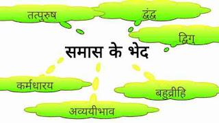 समास के भेद कितने प्रकार के होते है - Types Of Samas In Hindi