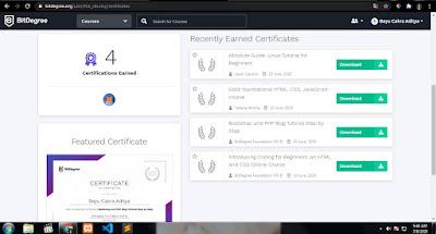 2 Tempat E-Sertifikat Programming Gratis