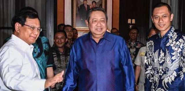 Bagi Prabowo, SBY Adalah Godfather Yang Akan Jadi Mentornya