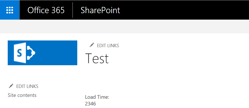 SharePointBlue - Yet Another SharePoint Blog: SharePoint Online Page