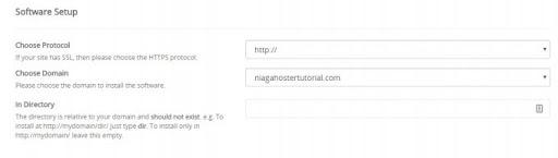 pilih domain wordpress