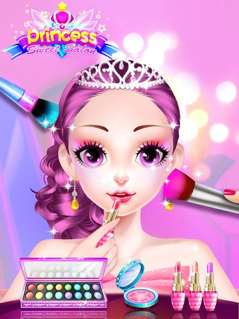 Princess Dress up Games – Makeup Salon
