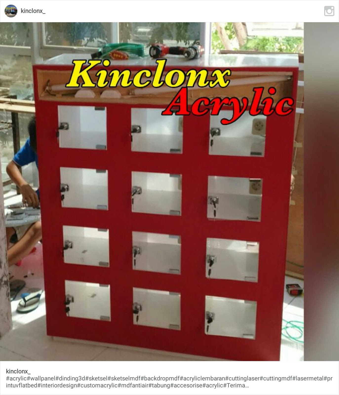 PT. KINCLONX ACRYLIC INDONESIA.: BOX CHARGER