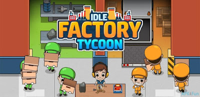 Idle Factory Tycoon Apk (MOD, Free Shopping) for Android