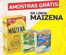 Promoção Maizena 2019 Aniversário 130 Anos Brasil - Amostra Grátis Produtos