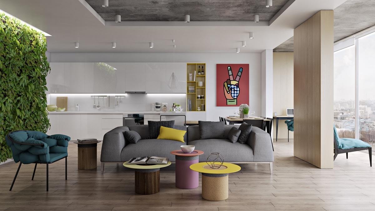 29 Desain Ruang Keluarga Rumah Minimalis