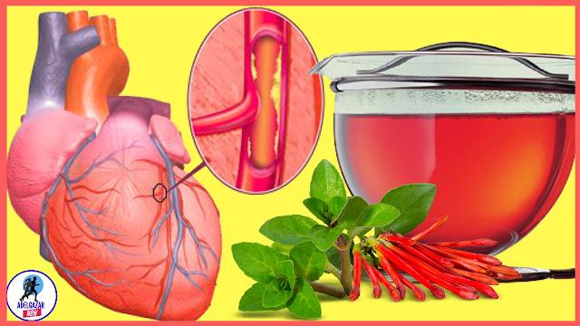 Toma el Jugo de esta Planta para Limpiar las Arterias de Colesterol y Grasas Trans