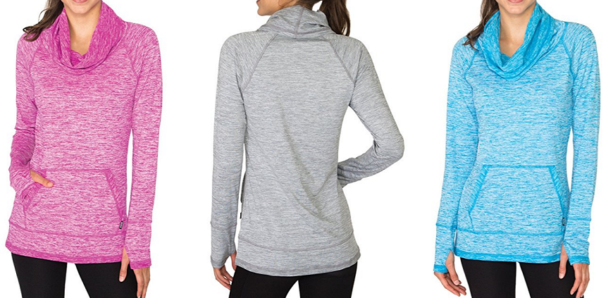 RBX Active Fleece Lined Pullover Tunic for only $25-$32 (reg $58)
