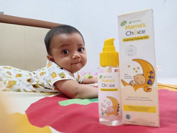 Mama's Choice Calming Tummy Oil : Minyak untuk Pijat Bayi