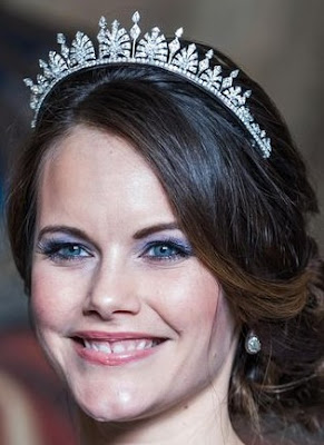 palmette tiara diamond princess sofia sweden