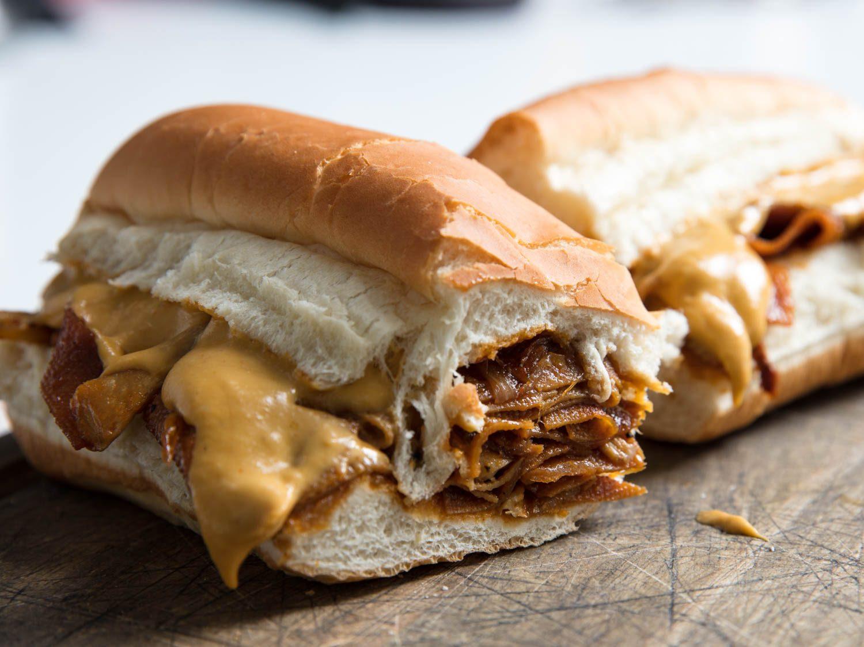 Grilled Mushroom Cheesesteaks #mushroom #breakfast #vegan #healthy #vegetarian