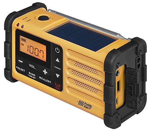 Radio solaire portable