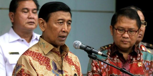 Nada bicara Wiranto meninggi ditanya perkembangan kasus pembunuhan Munir