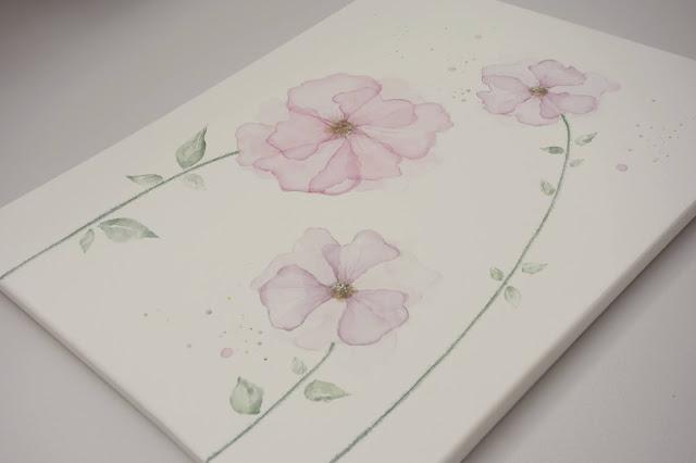 waterpainting flowers