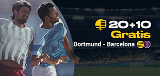 bwin promocion champions Dortmund vs Barcelona 17-9-2019