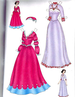 бумажная кукла Walt Disney Белоснежка