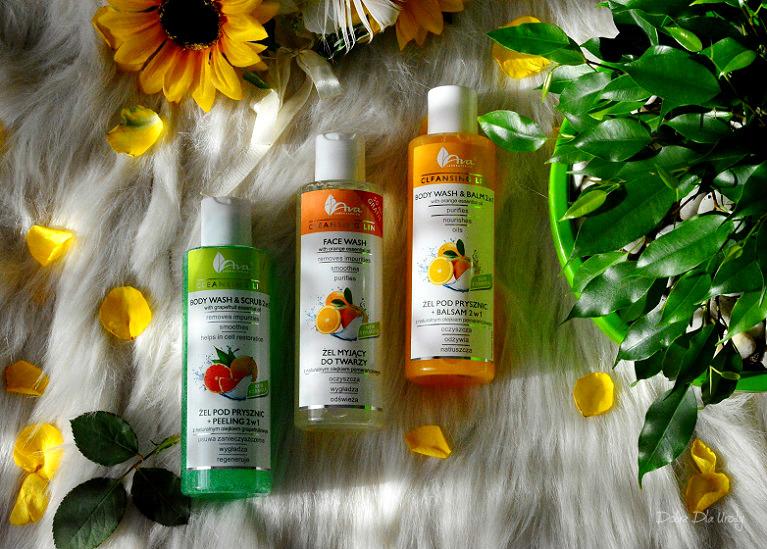 Cleansing Line - kosmetyki myjące Ava Laboratorium recenzja