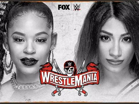 Bianca Belair vs. Sasha Banks official for WrestleMania 37