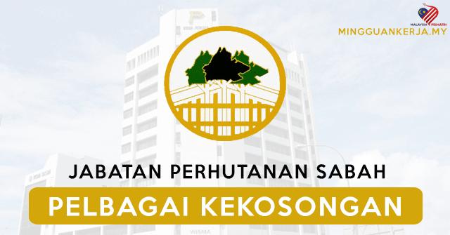 Minima Pmr Pt3 Layak Memohon Pelbagai Jawatan Kosong Terkini Di Jabatan Perhutanan Sabah Mohon Sebelum 10 September 2020 Mingguan Kerja