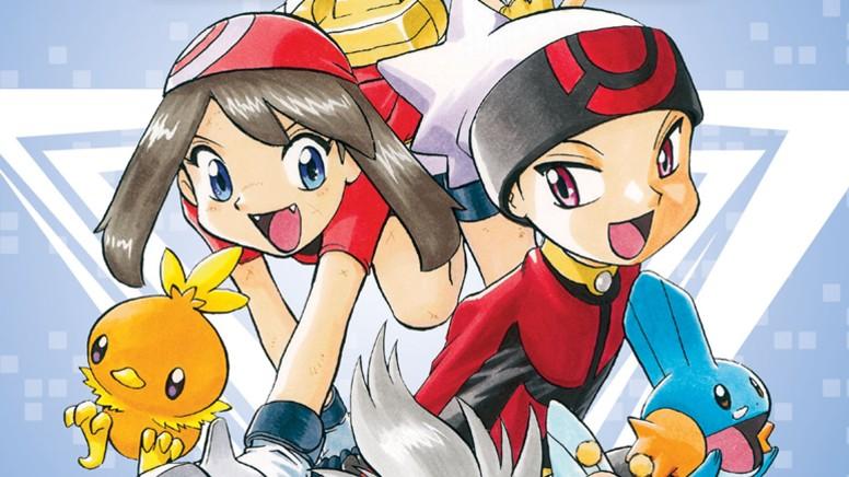 Pokémon Ruby e Sapphire Mangá