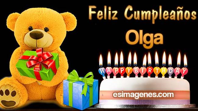 Feliz Cumpleaños Olga