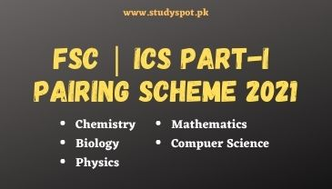 1st year pairing scheme 2021