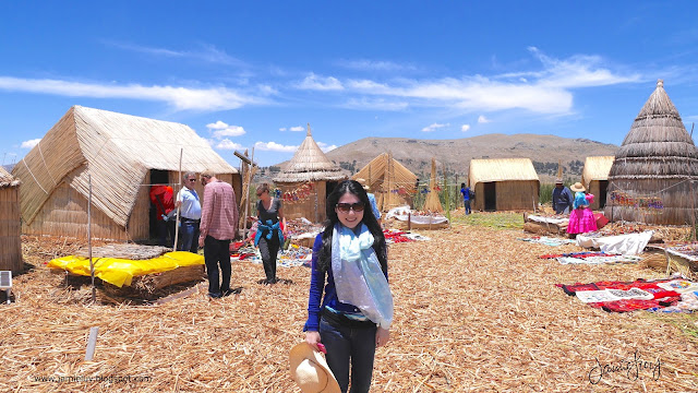 Floating Islands of Uros, Lake Titicaca, Puno, Peru