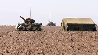 سلاح الجو المغربي يستهدف وحدات عسكرية صحراوية تابعة للناحية العسكرية الخامسة.
