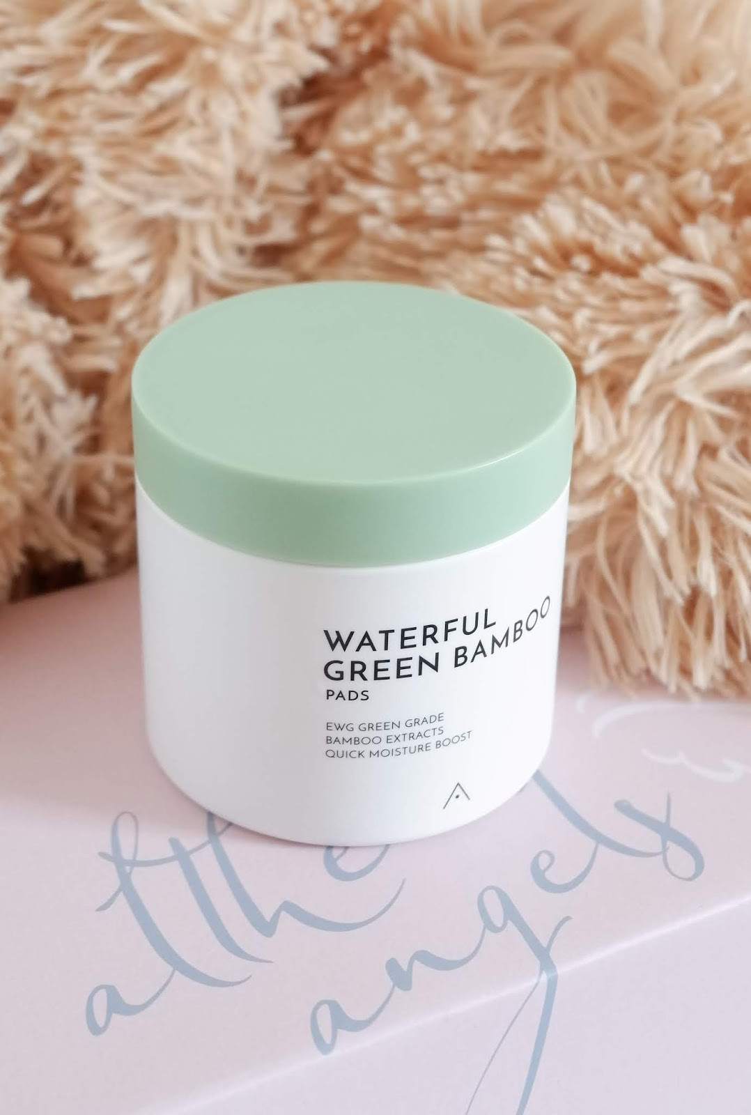 ALTHEA WATERFUL GREEN BAMBOO PADS  AND SKIN RELIEF CALMING CREAM REVIEW