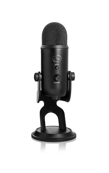 Blue Yeti USB Microphone — Blackout Edition